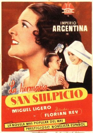 La hermana San Sulpicio - Spanish Movie Poster (thumbnail)