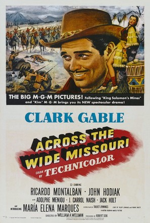 Across the Wide Missouri - Movie Poster (thumbnail)