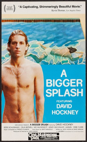A Bigger Splash - Movie Poster (thumbnail)