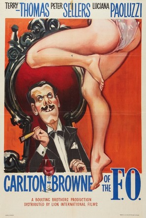 Carlton-Browne of the F.O. - British Movie Poster (thumbnail)