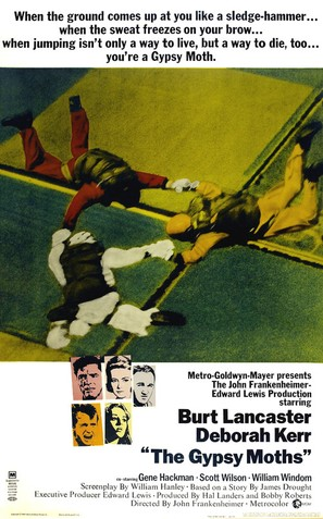 The Gypsy Moths - Theatrical poster (thumbnail)