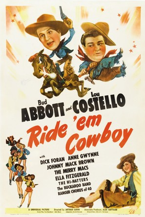 Ride 'Em Cowboy - Movie Poster (thumbnail)