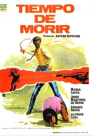 Tiempo de morir - Spanish Movie Poster (thumbnail)