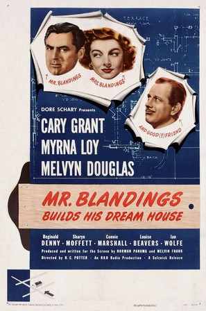 Mr. Blandings Builds His Dream House - Theatrical poster (thumbnail)