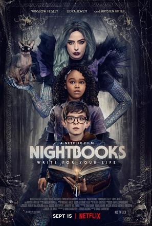 Nightbooks - Movie Poster (thumbnail)