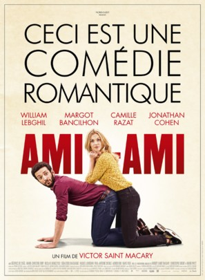 Ami-ami - French Movie Poster (thumbnail)