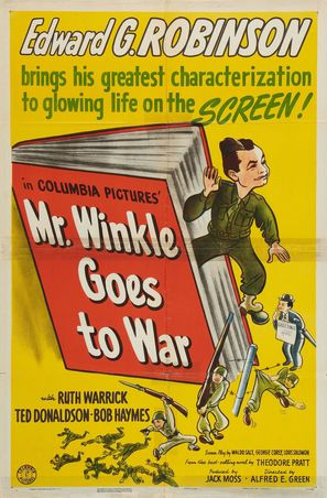 Mr. Winkle Goes to War - Movie Poster (thumbnail)