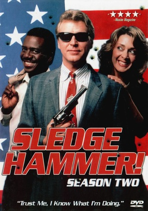 """Sledge Hammer!"" - DVD movie cover (thumbnail)"