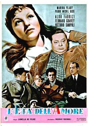 L'età dell'amore - Italian Movie Poster (thumbnail)