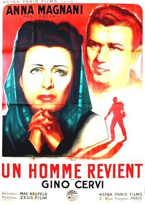 Un uomo ritorna - French Movie Poster (thumbnail)