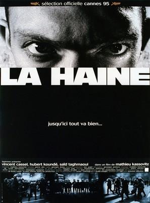 La haine - French Movie Poster (thumbnail)