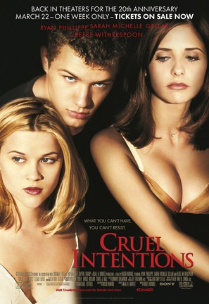 Cruel Intentions - Re-release movie poster (thumbnail)