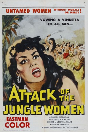 Attack of the Jungle Women - Movie Poster (thumbnail)