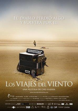 Los viajes del viento - Colombian Movie Poster (thumbnail)