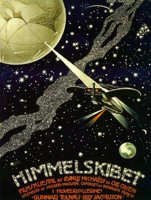 Himmelskibet - Danish Movie Poster (thumbnail)
