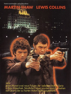 """The Professionals"" - German Movie Poster (thumbnail)"