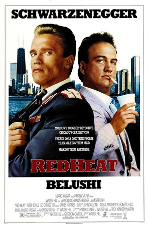 Red Heat - Theatrical movie poster (thumbnail)