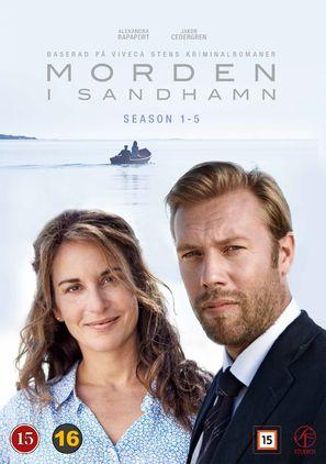 """""""Morden i Sandhamn"""" - Danish Movie Cover (thumbnail)"""