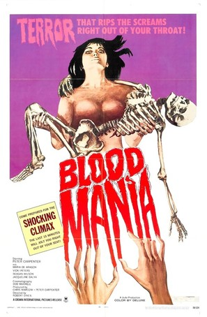 Blood Mania - Movie Poster (thumbnail)