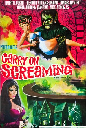 Carry on Screaming! - British Movie Poster (thumbnail)
