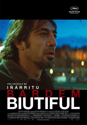 Biutiful - Spanish Movie Poster (thumbnail)