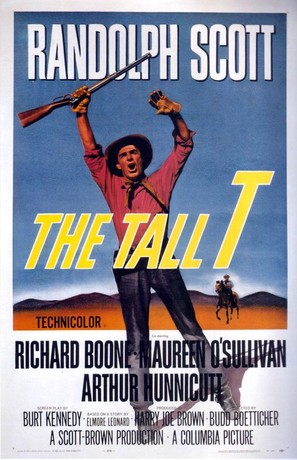 The Tall T - Movie Poster (thumbnail)