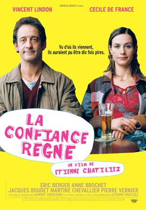 La confiance règne - French Movie Poster (thumbnail)