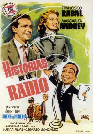 Historias de la radio - Spanish Movie Poster (thumbnail)