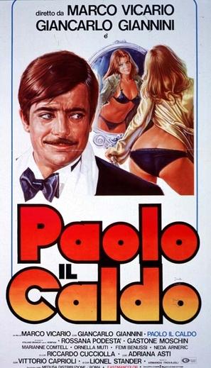 Paolo il caldo - Italian Movie Poster (thumbnail)