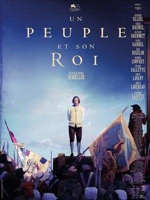 Un peuple et son roi - French Movie Poster (thumbnail)