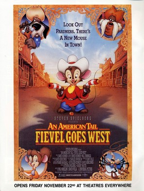 An American Tail: Fievel Goes West - Movie Poster (thumbnail)