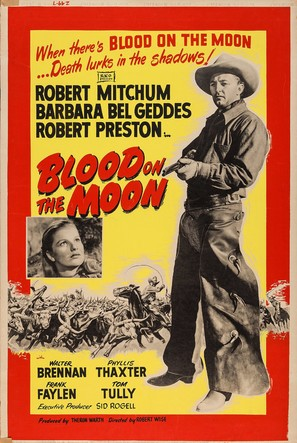 Blood on the Moon - Re-release movie poster (thumbnail)