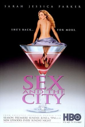 """""""Sex and the City"""" - Movie Poster (thumbnail)"""