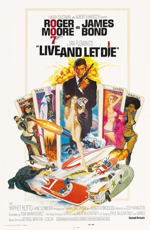 Live And Let Die - Movie Poster (thumbnail)