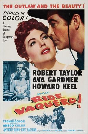Ride, Vaquero! - Movie Poster (thumbnail)