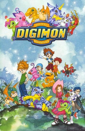 """Digimon: Digital Monsters"" - Movie Poster (thumbnail)"
