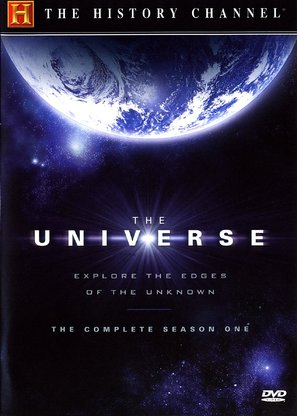 """""""The Universe"""" - DVD movie cover (thumbnail)"""