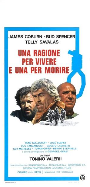 Una ragione per vivere e una per morire - Italian Movie Poster (thumbnail)