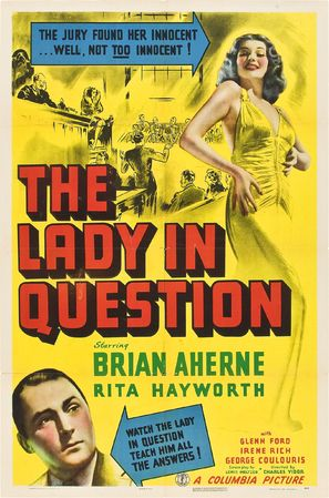 The Lady in Question - Movie Poster (thumbnail)