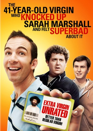 The 41 Year Old Virgin Who Knocked Up Sarah Marshall and Felt Superbad About It - Movie Cover (thumbnail)