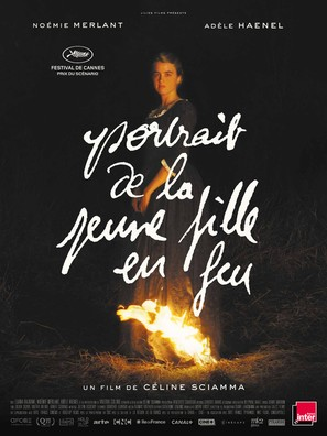 Portrait de la jeune fille en feu - French Movie Poster (thumbnail)