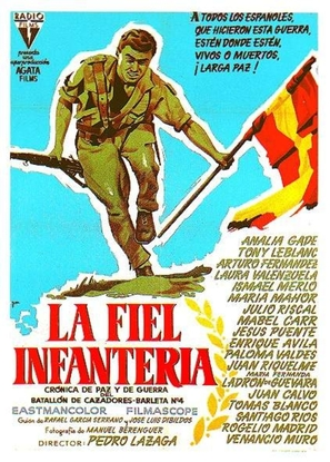 La fiel infantería - Spanish Movie Poster (thumbnail)