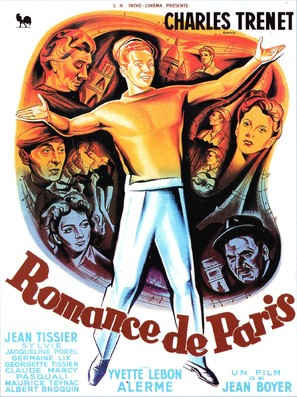Romance de Paris - French Movie Poster (thumbnail)