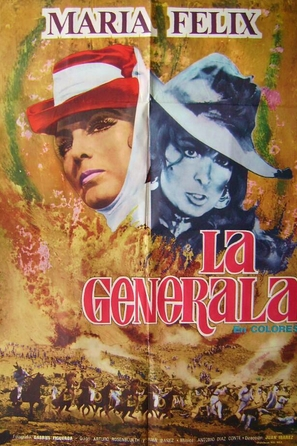 La generala - Mexican Movie Poster (thumbnail)