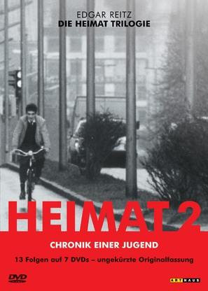 """""""Die zweite Heimat - Chronik einer Jugend"""" - German DVD movie cover (thumbnail)"""
