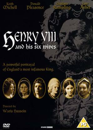 Henry VIII and His Six Wives - British DVD cover (thumbnail)