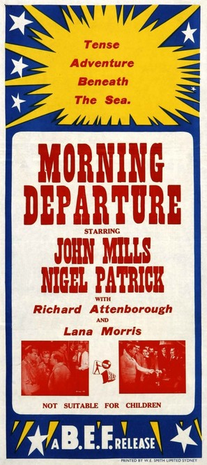 Morning Departure - Australian Movie Poster (thumbnail)