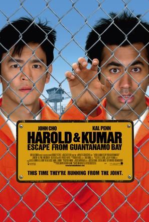 Harold & Kumar Escape from Guantanamo Bay - Movie Poster (thumbnail)