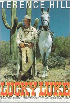 Lucky Luke - German Movie Poster (thumbnail)
