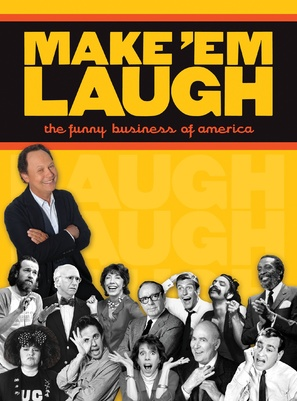 """""""Make 'Em Laugh: The Funny Business of America"""" - Movie Cover (thumbnail)"""